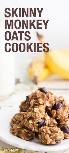 Skinny Monkey Oats Cookies