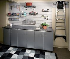 Garage Storage Racks- Keep your most used tools within easy sight and reach!