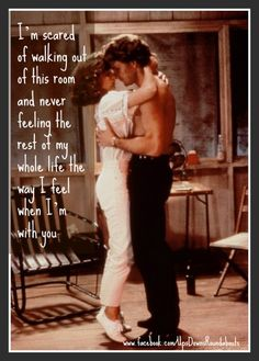 Dirty Dancing....love this movie
