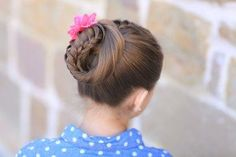 Lace Braided Ponytail and Updo | Cute Hairstyles #hairstyles #lacebraid #CGHLaceBraidedPonytail #braid #updo