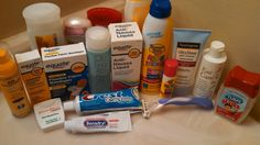 Tips For Packing The Toiletries - Disney with Babies, Toddlers & Preschoolers