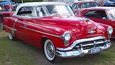 1952 Oldsmobile Convertible - Red - Front Angle    Image Copyright Serious Wheels