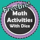 These Math Activities With Dice provide great practice for K-2 students! Use these for math centers, workstations, extra practice, or review.  Incl...