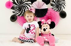 Minnie Mouse birthday | Mindy Smith Photography