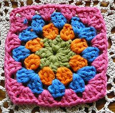 crochet square easy