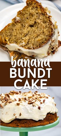BEST Banana Bundt Cake Recipe - Crazy for Crust