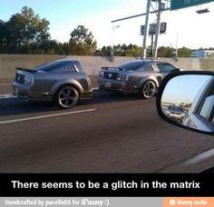 Glitch in the matrix / iFunny :)