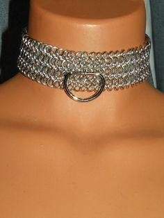 Ana's aluminum link collar--chapter 26 and 68