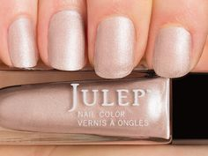 Julep Abigail — Classic with a Twist: Light peony pink silk