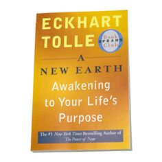 """""""This is one of the most important subjects and presented by one of the most important books of our time, 'A New Earth: Awakening to Your Life's Purpose.' I don't think there's anything more important than awakening and also knowing what your purpose is.""""--Oprah"""