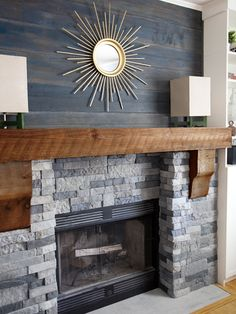 DIY Ideas to Try Update Your Fireplace - iVillage