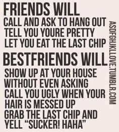 gotta love a best friend