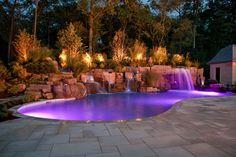 beautiful inground pools