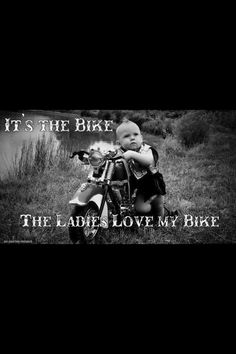 It's the bike...