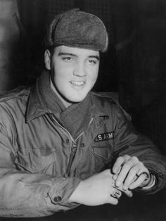 Elvis Presley  Presley joined the U.S. Army in March 1958 and, after training, joined the 3rd Armored Division in Friedberg, Germany on October 1st