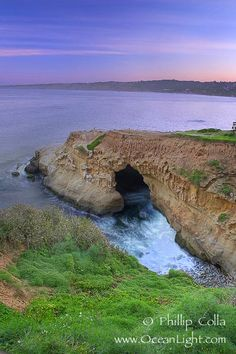 La Jolla Caves in San Diego