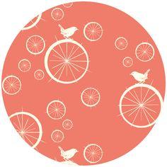 color, fabric birds, print