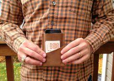 Easy DIY Leather Wallet for Men