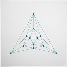 #199 Icosahedron – A new minimal geometric composition each day