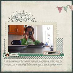 Layout by Anne. Supplies: Just Another Day by Karen Lewis Designz; Fonts: Traveling Typewriter.
