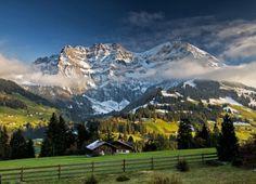 The Alps, Adelboden, Switzerland