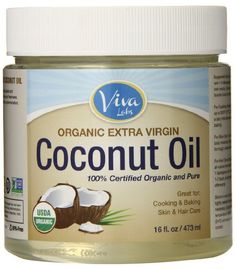 "Organic Extra Virgin Coconut Oil ""My favorite uses for it are as a deep conditioner for my hair (put it on, wrap a warm towel around your head for 20 minutes, wash it out), and as a gentle eye makeup remover (it does wonders on waterproof makeup)."" - Vegangela.com"