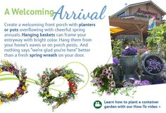Click to learn how to plant a container garden with our How-To video