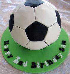 Soccer Ball Cake instructions