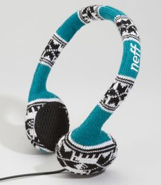 cool knit headphone covers