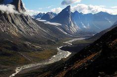 Mr.Thor in Baffin island,Canada