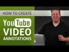 How To Create YouTube Video Annotations - YouTube