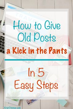 How to Give Old Post