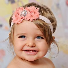 Learn to make Flower Headbands for Babies