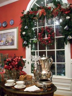 The Grits' Christmas Open House: Part 3-from The Everyday Home