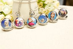 $14 for the Frozen Watch Necklace - Shipping Included