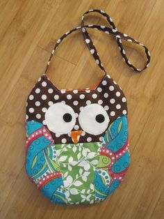 Owl Purse!  Totally making this!