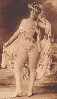 Marthe Alexandre French Dancer by Oricelly of Paris