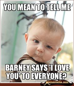 Skeptical Baby - you mean to tell me