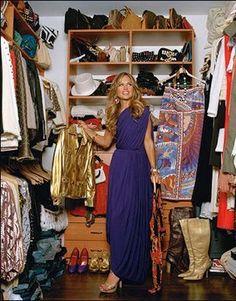Rachel Zoe's #closet. I die!
