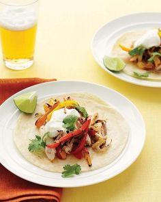 Fast Chicken Fajitas Recipe
