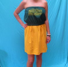 Baylor Bears GameDay Dress  Love My Game Dress by LoveMyGameDress
