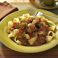 Slow-Cooked Pepper Steak Recipe | Taste of Home Recipes