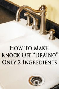 2-Ingredient Draino, plus a  second recipe for really bad clogs. Unfortunately this is really good to know.