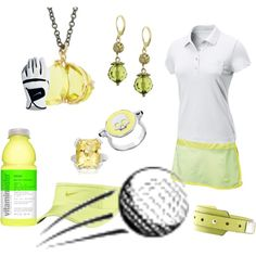 golf style, created by preppedandready.polyvore.com