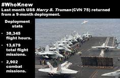 Deployment stats. #WhoKnew