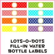 day 137: get crafty/ free printable fill-in water bottle labels and menus for spa sleepover birthday party table decor! « ipinterest water printable, idea, birthday parties, printabl water, spa parti, free printable labels for kids, water bottle labels, bottl label, water bottles