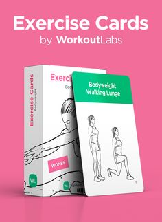 A deck of workout cards - brilliant! Available at https://Workoutlabs.com/exercise-cards