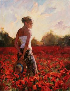 Gentil Coquelicot Mesdames ♫... #Poppies -- Early Fall, M & I Garmash
