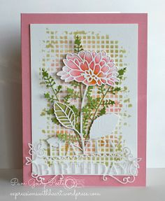 NEW dies and stencil from the Creative Elegance 2014 Papercraft Collection   Flickr - Photo Sharing!