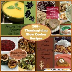 JUST UPDATED: Thanksgiving in a Slow Cooker: 247 Slow Cooker Thanksgiving Recipes